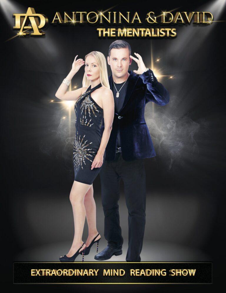 The Mentalists Antonina and David Poster